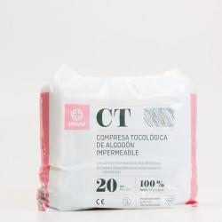 Compresas tocológicas de algodón Maternity