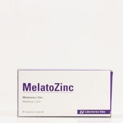 Melatozinc 1 mg, 60 Caps.