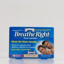 Respire tiras nasais grandes, 10 pcs