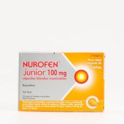 Nurofen Junior 100 mg, 12 Caps.