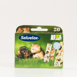 Salvelox Aposito Adhesivo Animales, 20 Ud.