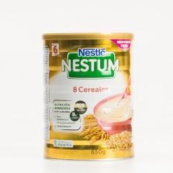 Nestlé Nestum Papilla 8 Cereais, 650g.