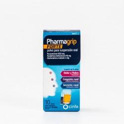 Pharmagrip Forte, 10 Sobres.