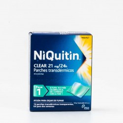 Niquitin Clear 21 mg/24h, 14 Patches.