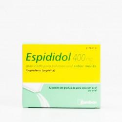 ESPIDIDOL 400 MG 12 SOBRES GRANULADO SOLUCION ORAL MENTA
