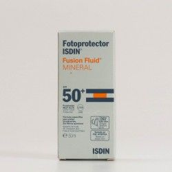 Fotoprotector Isdin Fusion Fluid Mineral SPF50+, 50ml
