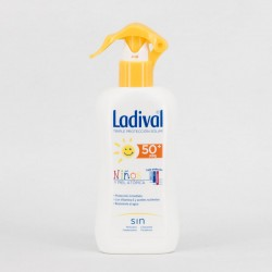 Lavidal Niños y Piel Atópica SPF50+, 200ml.