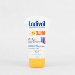 Ladival Niños Piel Atópica Leche Hidratante SPF50+, 75ml.