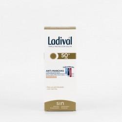 Ladival Anti-manchas SPF50+ Emulsion con Color, 50ml.
