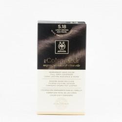 Apivita my Color Elixir Tinte 5.18, Castaño claro ceniza perlado