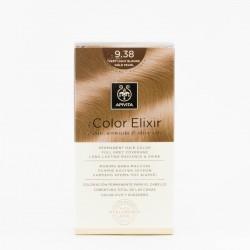 Apivita Tinte my Color Elixir 9.38, Rubio muy claro dorado perlado