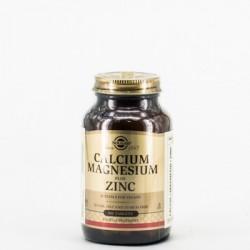 Solgar Calcium Magnesium Plus Zinc, 100 Comp.
