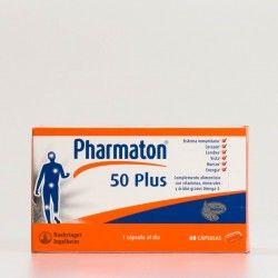 Pharmaton 50 Plus, 60 cápsulas