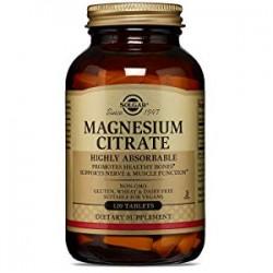 Solgar Citrato de Magnesio, 120 Comp.