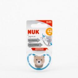 NUK Chupete Space Silicona 0-6 m
