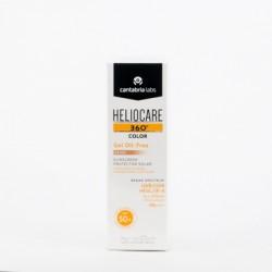 Heliocare 360 Color Gel Oil-free SPF50+, 50ml.