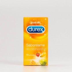 Durex Tuttifruti 12 preservativos.