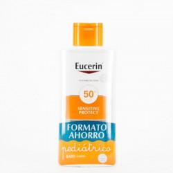 Eucerin Sun Kids Lotion Pack infantil, 400ml+50ml