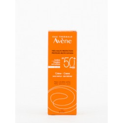Avene Crema Sin Perfume SPF50+, 50ml.