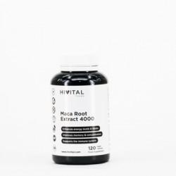 Hivital Maca Peruana Concentrado 4000 mg, 120 caps.