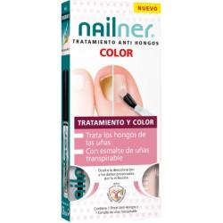 Nailner Tratamiento Anti-hongos + Esmalte Color