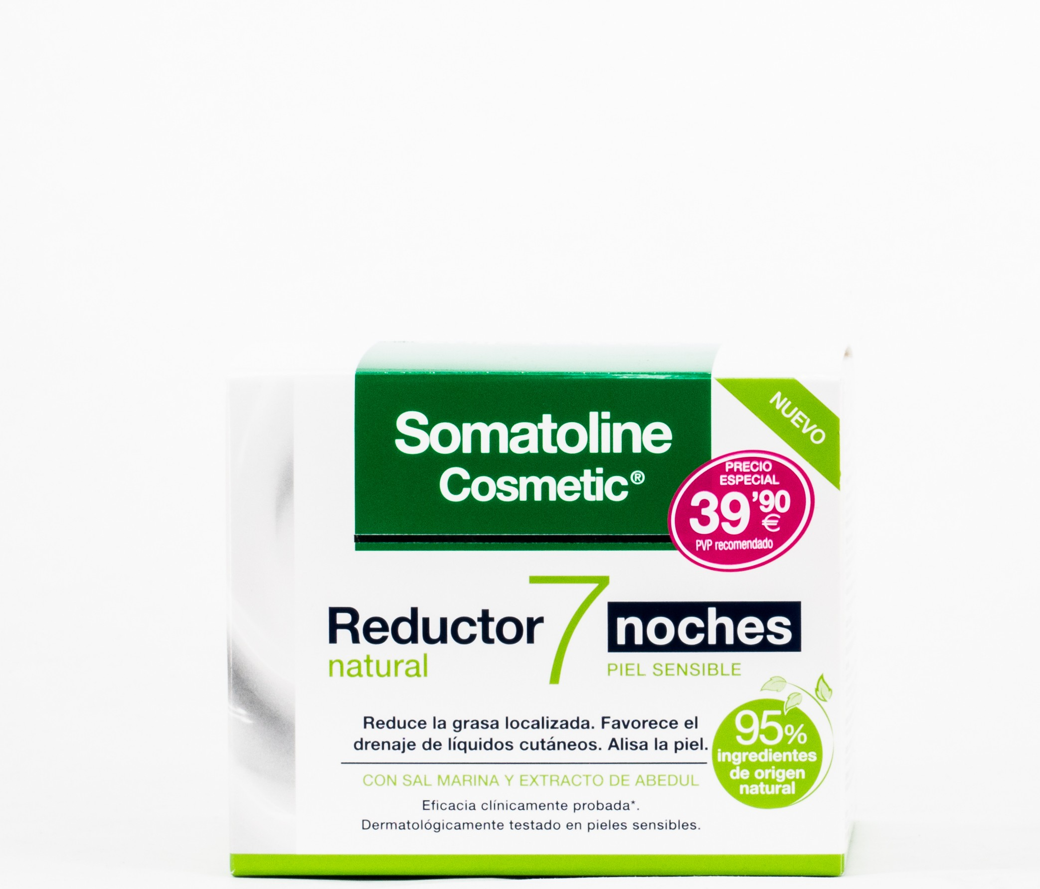 Somatoline Reductor Natural 7 noches, 400gr.