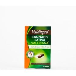 Valdispro Cannabis Sativa Valeriana, 24 Caps.