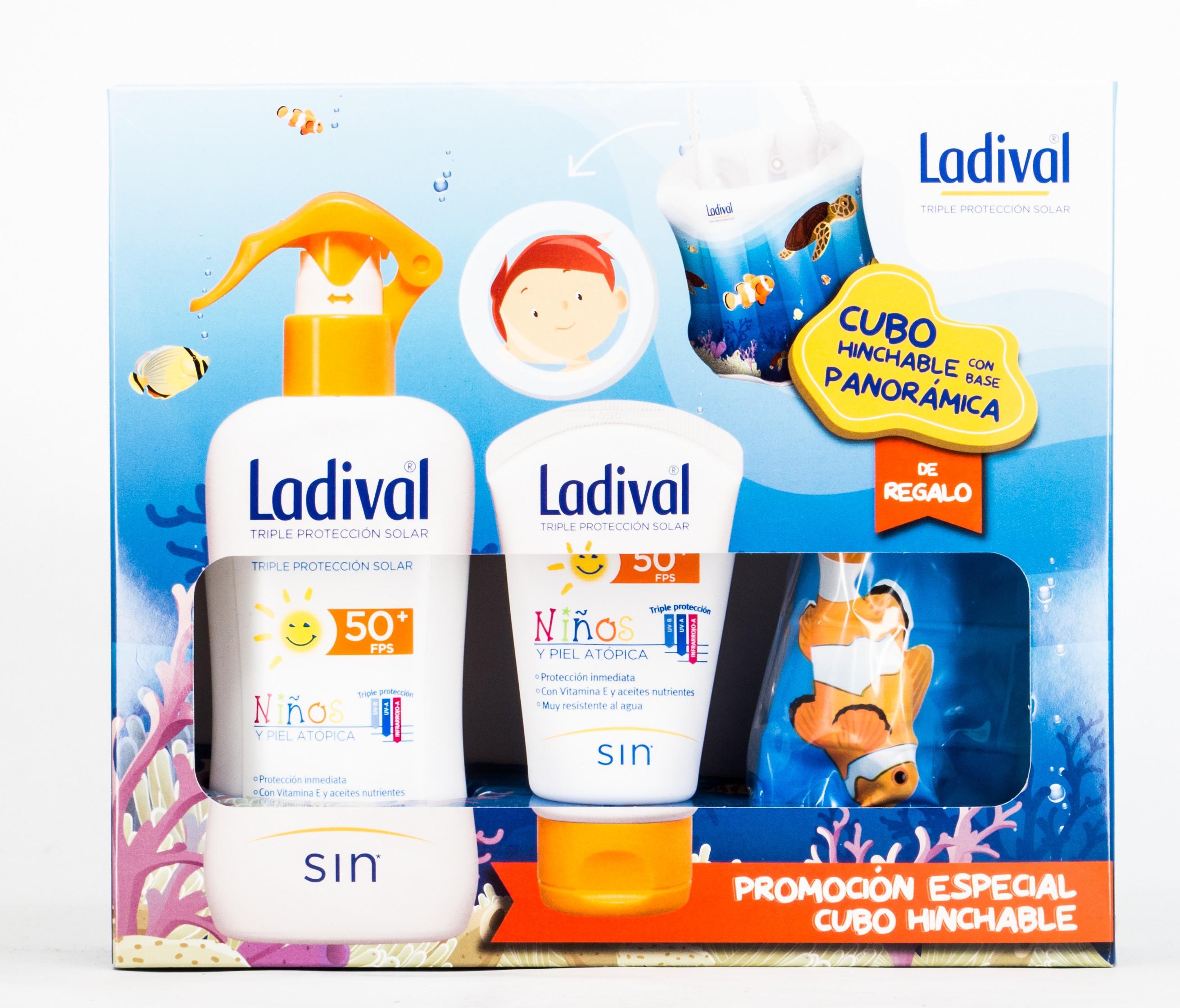 Ladival Pack Niños y Pieles Atópicas Spray 200 + 75 ml + Pelota.