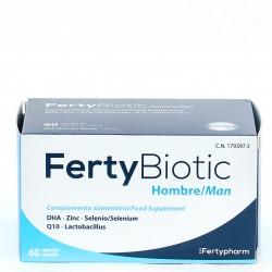 Fertybiotic Hombre, 60 cápsulas