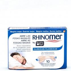Rhinomer Tira Nasal Breathe Right Peq/Med, 10 Uds.