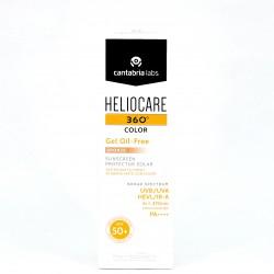 Heliocare 360º SPF50+ Gel Oil-Free Bronze, 50ml.
