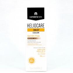 Heliocare 360º SPF50+ Gel Oil-Free Bronze Intense, 50ml.