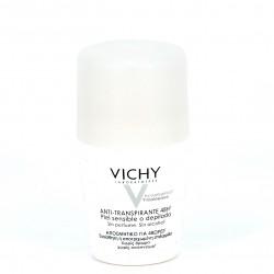 Vichy desodorante antitranspirante piel sensible, 50ml