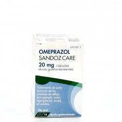 Omeprazol Sandoz Care 20mg 14 cápsulas
