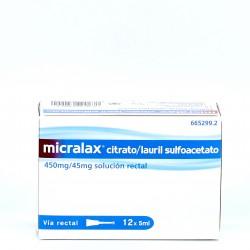 Micralax 12 cánulas