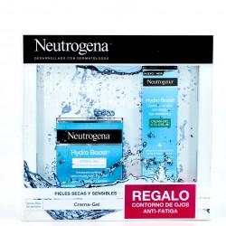 Pack Neutrogena Hydro Boost Crema Gel+Contorno, 50ml+15ml.