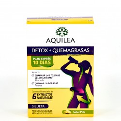 Aquilea Detox + Quemagrasas, 10Stick.