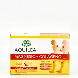 Aquilea Magnesio + Colageno, 30 Comprimidos.