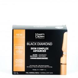 Martiderm Skin Complex Black Diamond , 10 Ampollas.