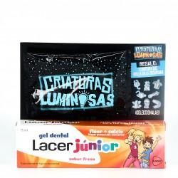 Lacer Junior Gel Dental Sabor Fresa, 75ml