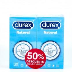 Durex Natural Plus, 2x12U.