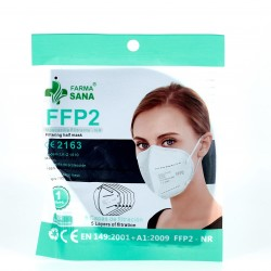 FFP2 Navy Blue Mask, 1 pc.