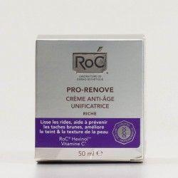 Roc Pro-Renove Crema Antiedad Unificante Textura Rica, 50ml