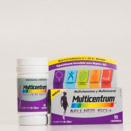 Multicentrum Mujer 50+, 90 comp.