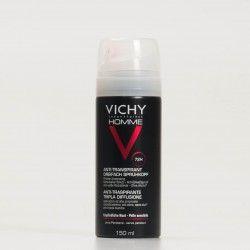 Vichy Desodorante Homme Triple Difusión, 150ml.