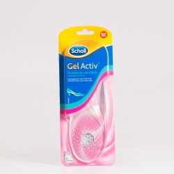 Scholl Gel Activ palmilhas. Saltos de uso diário. 1 par