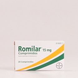 Romilar 15 mg, 20comprimidos.