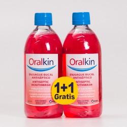 Bochecho OralKin duplo. 2x500ml