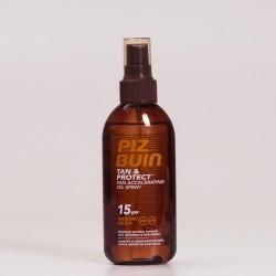 Piz Buin SPF15 Aceite Acelerador Spray, 150ml.