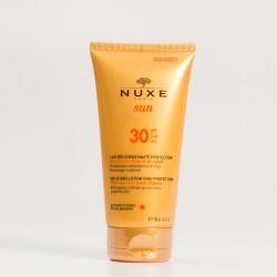 NUXE Sun Loción deliciosa rostro y cuerpo SPF30, 150ml.